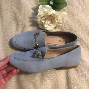 Prune women's baby blue loafers